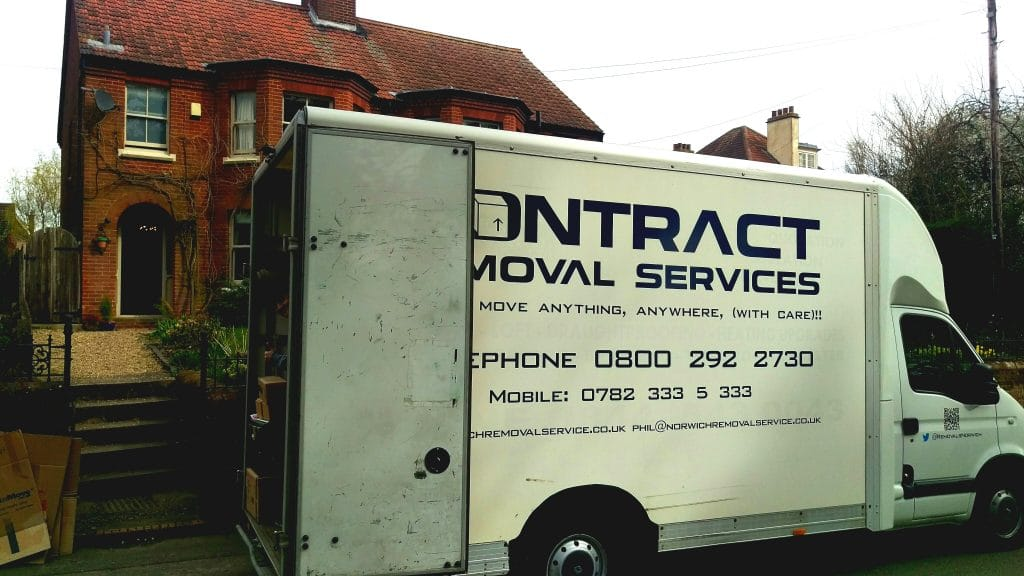 A recent removal in Aylsham